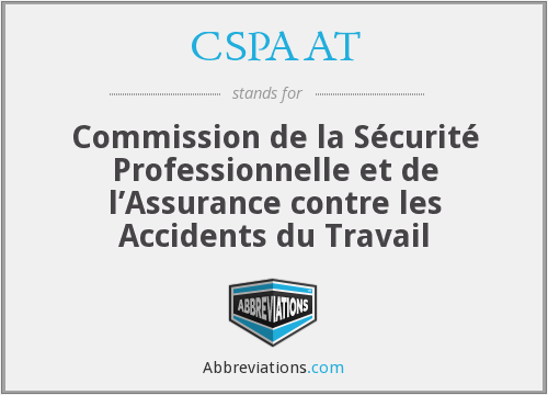 What does CSPAAT stand for?