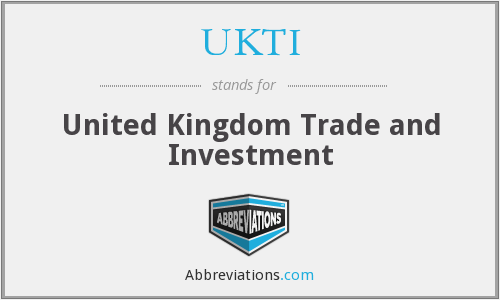What does UKTI stand for?