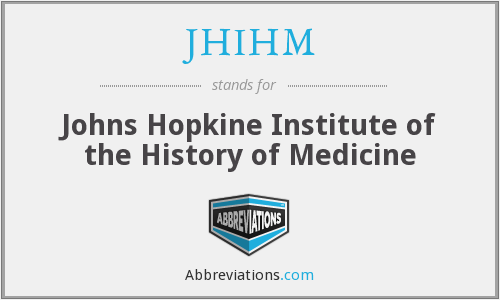 What does JHIHM stand for?