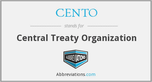 What does CENTO stand for?