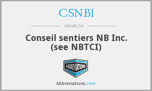 What does CSNBI stand for?