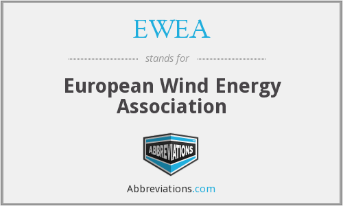 What does EWEA stand for?