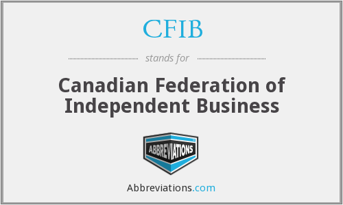 What does CFIB stand for?