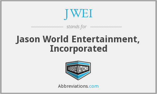 What does JWEI stand for?