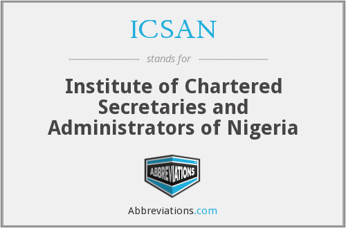 What does ICSAN stand for?