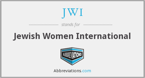 What does JWI stand for?