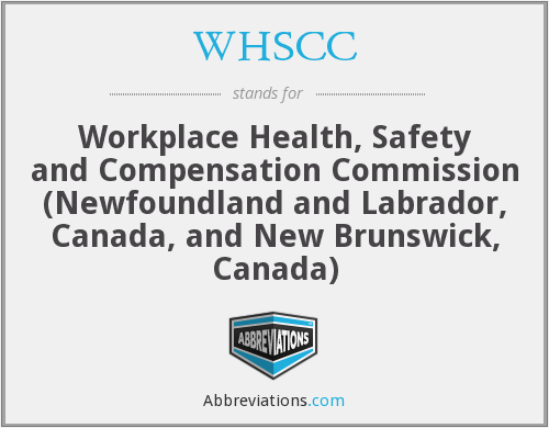 What does WHSCC stand for?