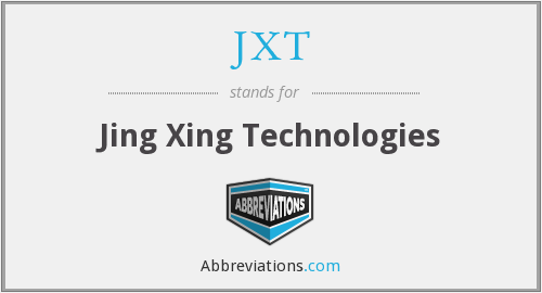 What does JXT stand for?