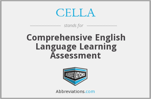 What does CELLA stand for?
