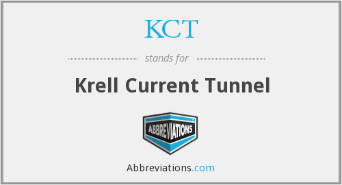 What does KCT stand for?