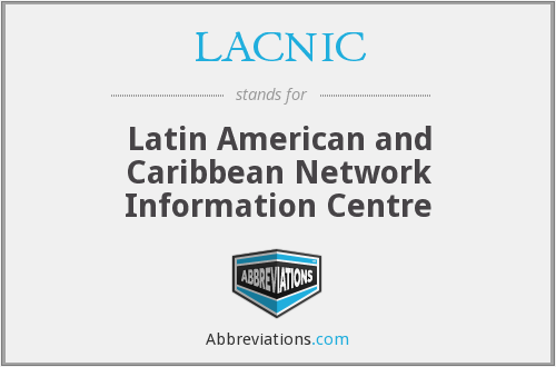 What does LACNIC stand for?