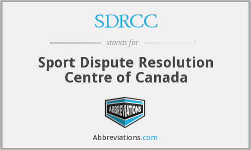 What does SDRCC stand for?