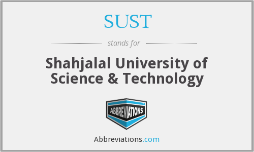 What does SUST stand for?