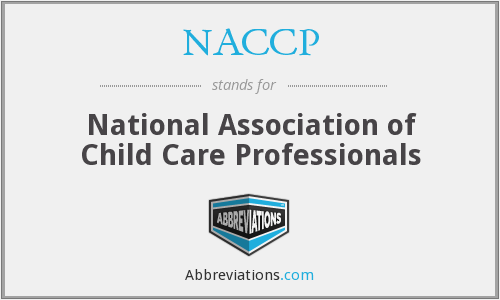 What does NACCP stand for?