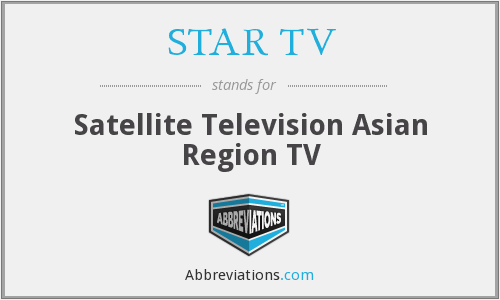 What does STAR TV stand for?