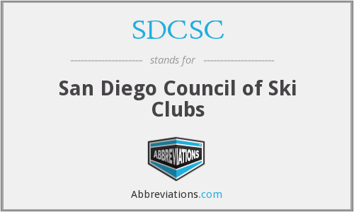 What does SDCSC stand for?