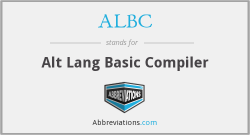 What does ALBC stand for?