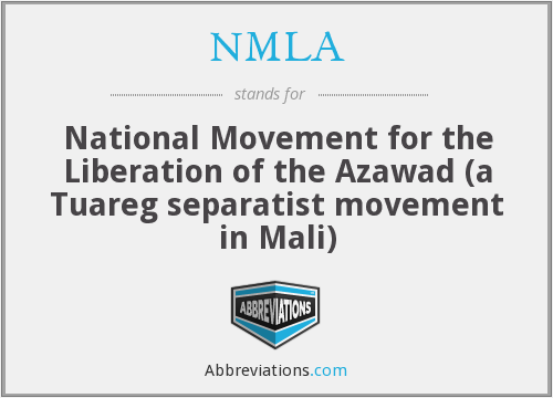 What does NMLA stand for?