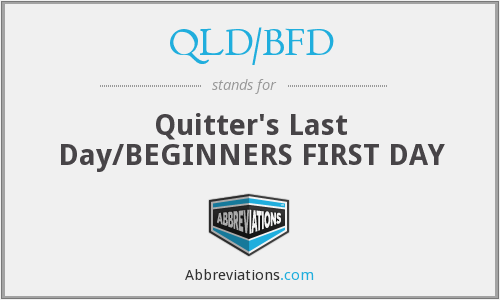 What does quitter stand for?