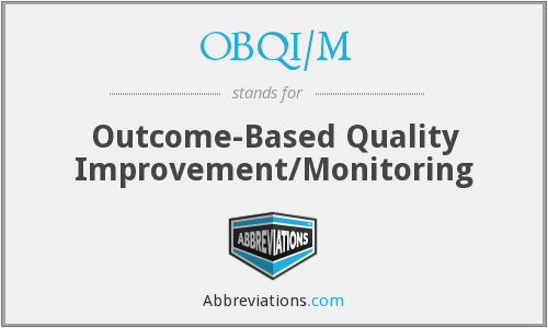 What does OBQI/M stand for?