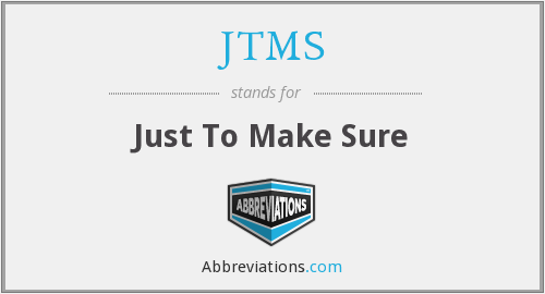 What does JTMS stand for?