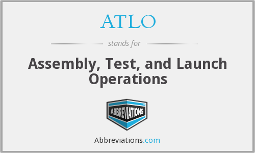 What does ATLO stand for?