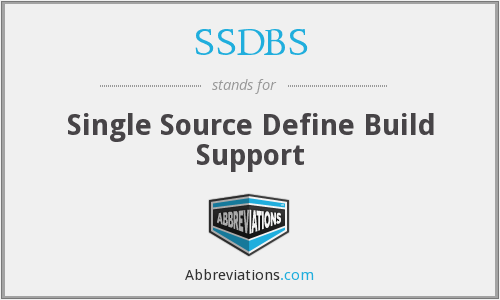 What does SSDBS stand for?