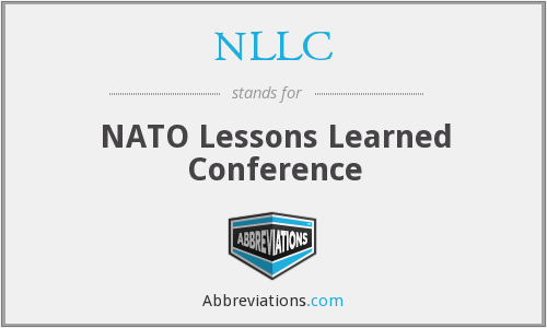 What does NLLC stand for?