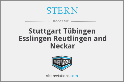 What does STERN stand for?