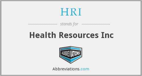 What does HRI stand for?