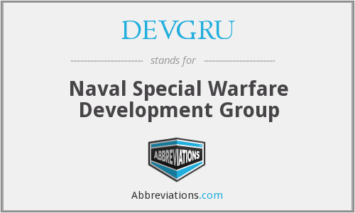 What does DEVGRU stand for?