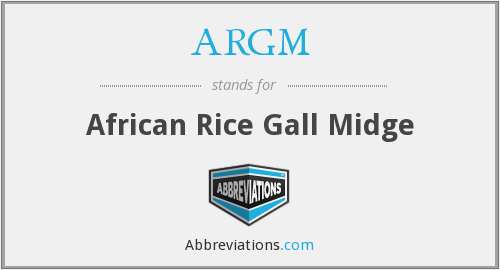 What does ARGM stand for?