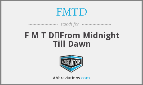 What does FMTD stand for?