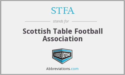 What does STFA stand for?