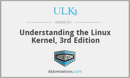 What does ULK3 stand for?