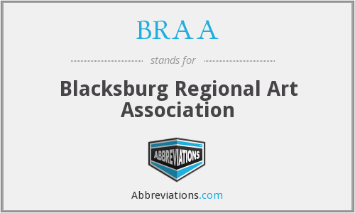 What does BRAA stand for?