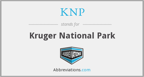What does KNP stand for?