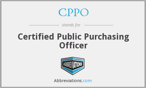 What does CPPO stand for?