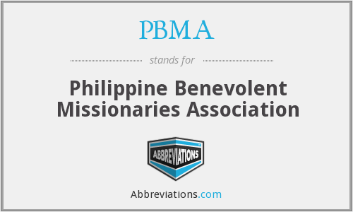 What does PBMA stand for?