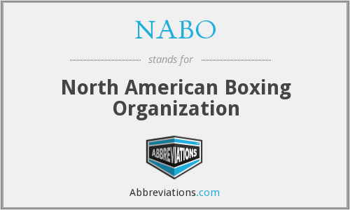 What does NABO stand for?