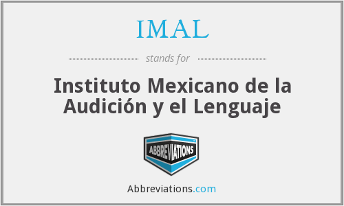 What does IMAL stand for?