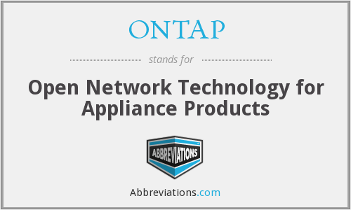 What does ONTAP stand for?