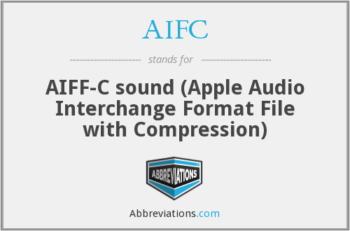 What does AIFC stand for?
