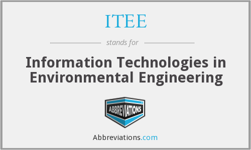 What does ITEE stand for?