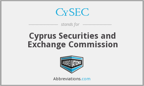 What does CYSEC stand for?