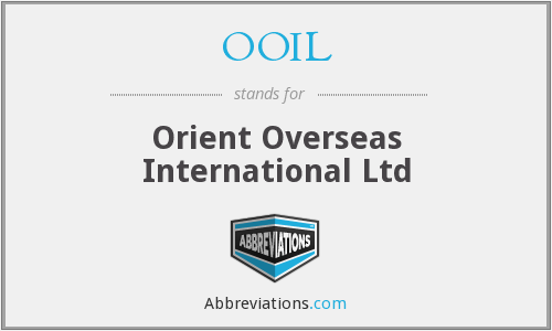 What does OOIL stand for?