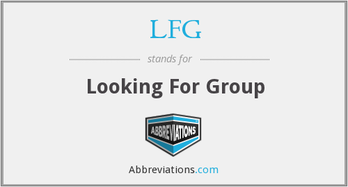 What does LFG stand for?