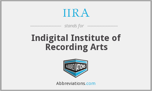 What does IIRA stand for?
