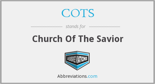 What does COTS stand for?