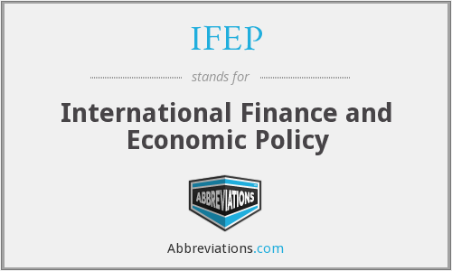 What does IFEP stand for?